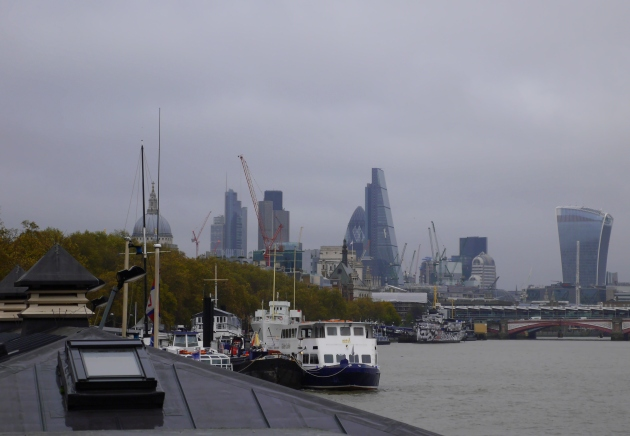 London Skyline in November
