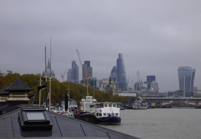London Skyline in November