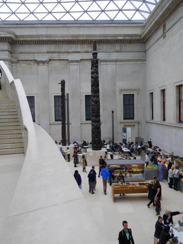 British Museum Totem Poles