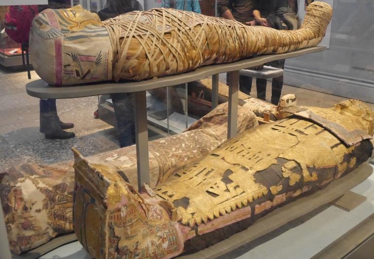 Mummies at the British Museum