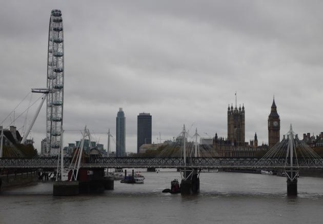 November London Skyline