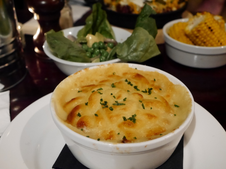 Fish Pie at the White Lion Finsbury Park