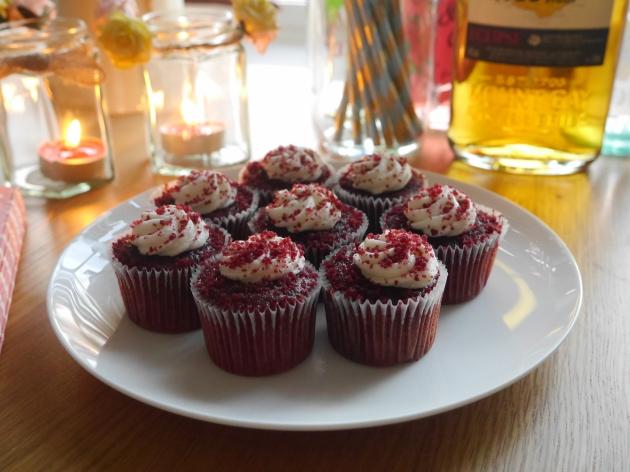 Waitrose Red Velvet Mini cakes
