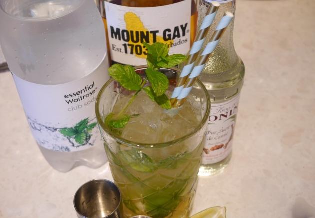 Mount Gay Rum Mojito