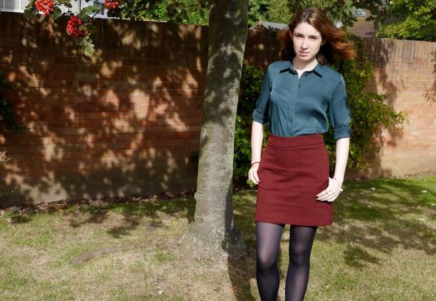 London Blogger in Autumn Colours