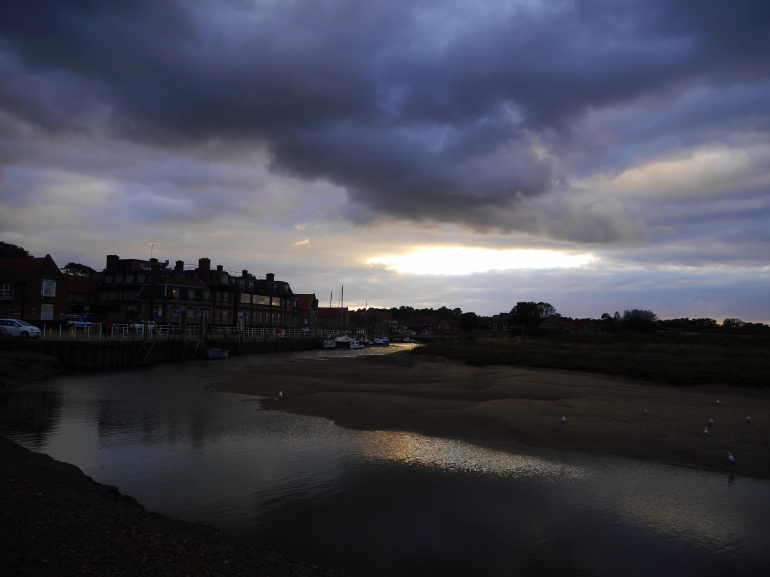 Blakeney Quay at Sunset