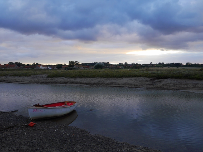 Blakeney Quay in the evening