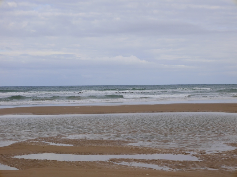 Holkham Beach in Autumn