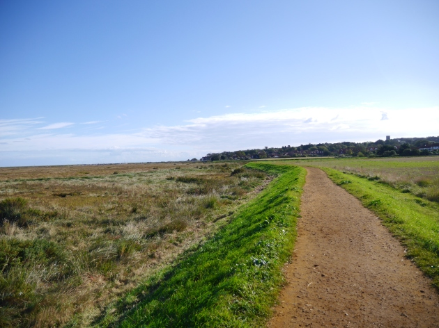 Coastal walk to Morston