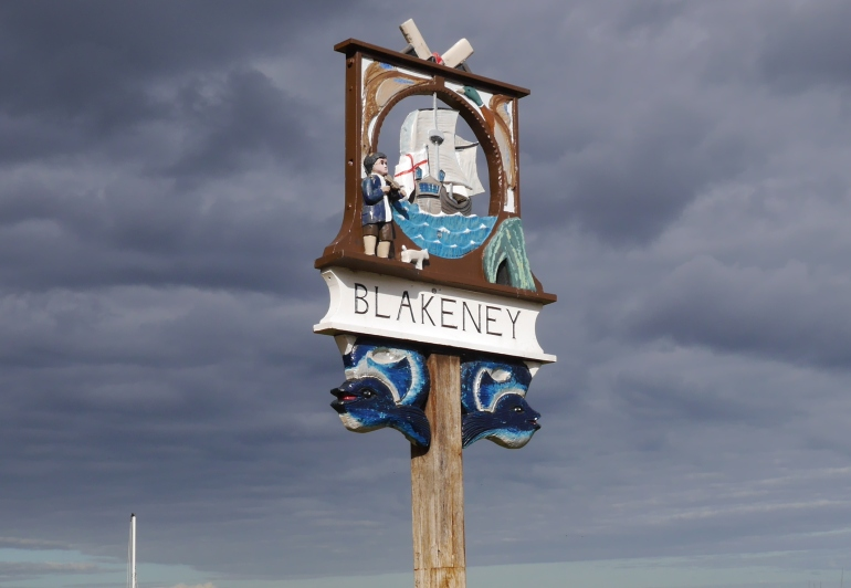 Blakeney village sign