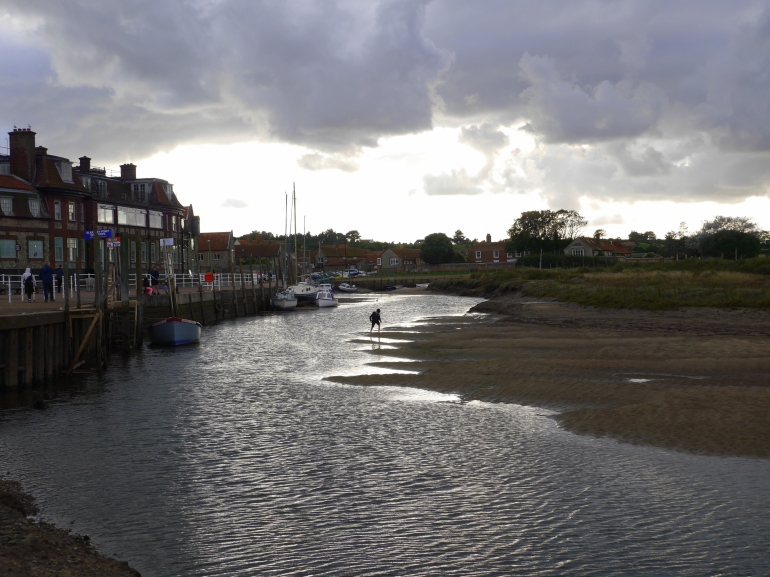 Blakeney Quay Low Tide