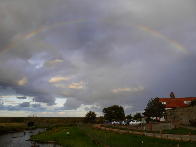 Rainbow in Blakeney