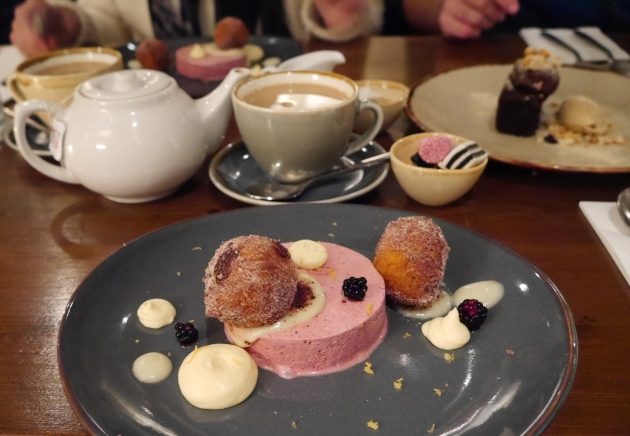 Desserts at Wiveton Bell