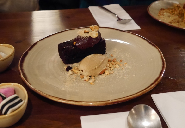 Chocolate & Stout Cake at the Wiveton Bell