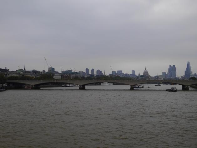 Grey London Morning