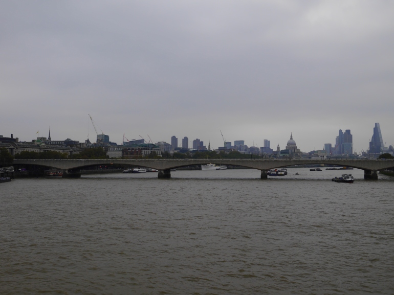 Grey London Morning