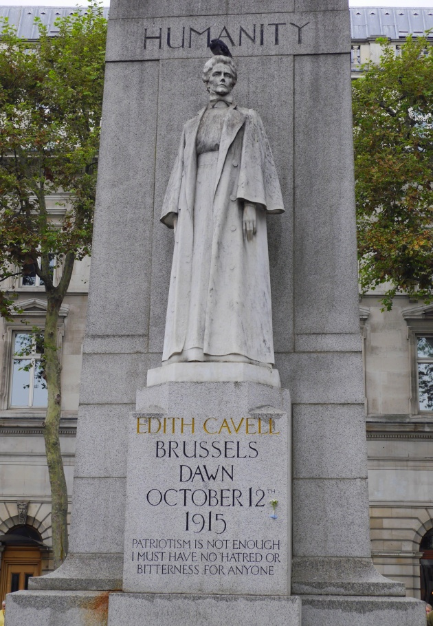 Edith Cavel Statue