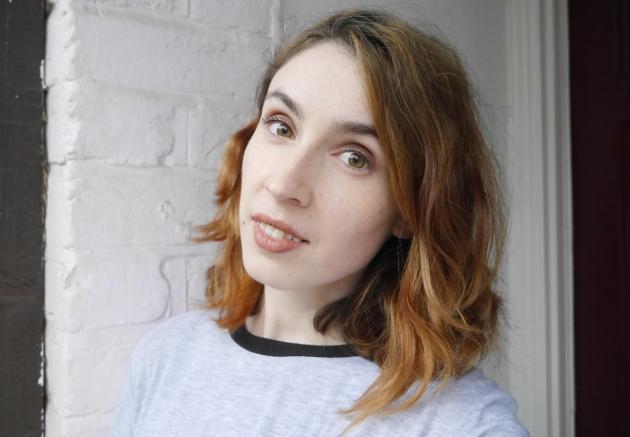 Blogger wearing LA Girl Concealer