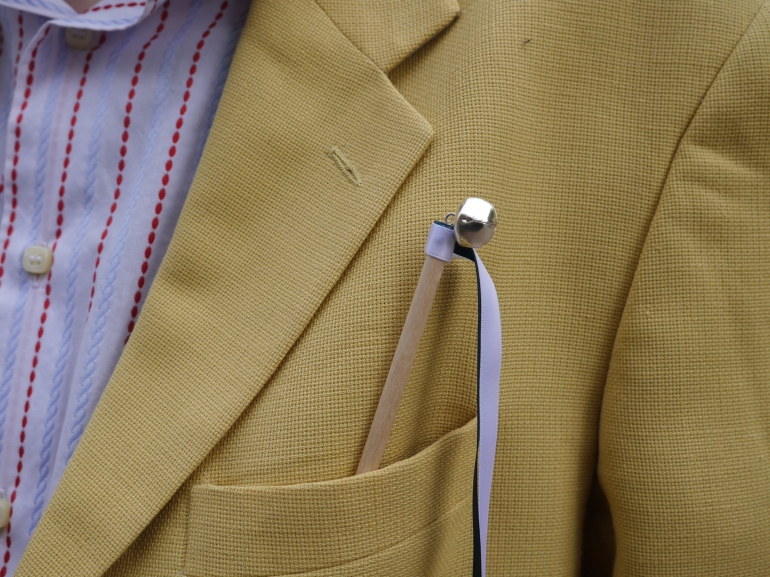 Wedding yellow blazer