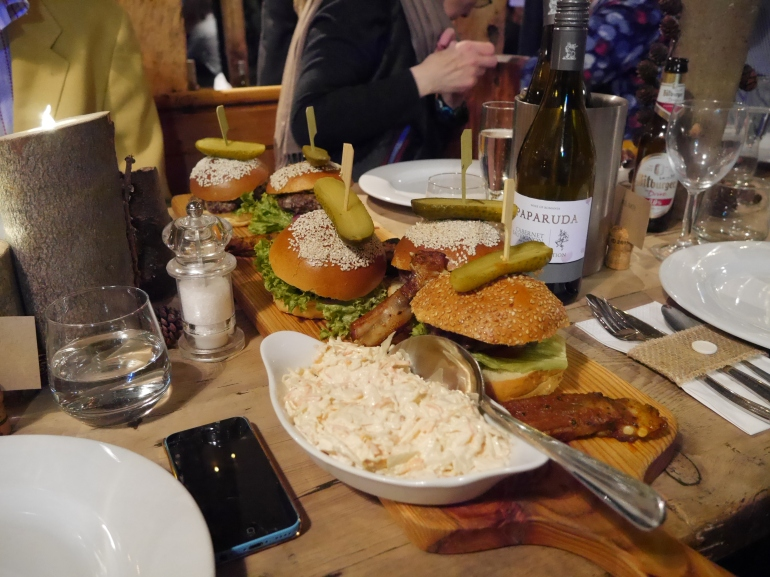 Wedding Burgers at Jimmys Farm