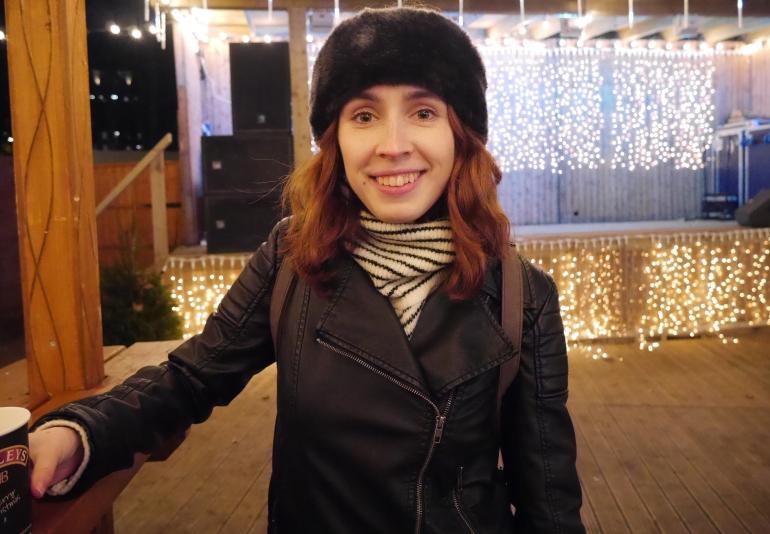 Blogger at Winter Wonderland