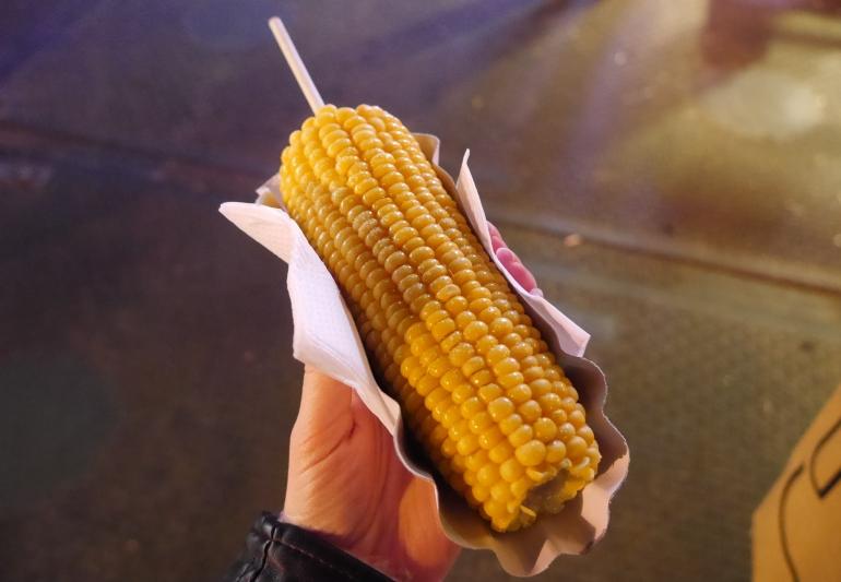 Corn on the Cobb at Winter Wonderland