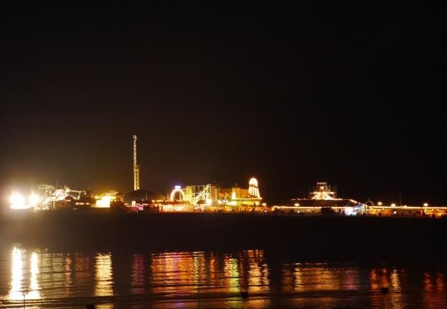 Brighton Pier Lit Up