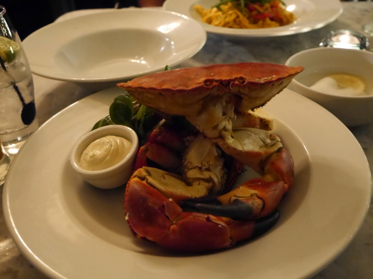Whole Crab at Riddle&Finns