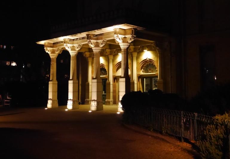 Brighton Pavillion at Night