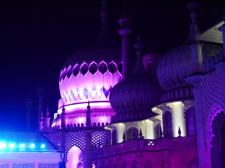 Brighton Pavillion at Christmas