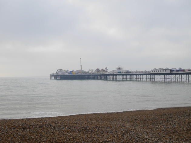 Foggy Morning in Brighton