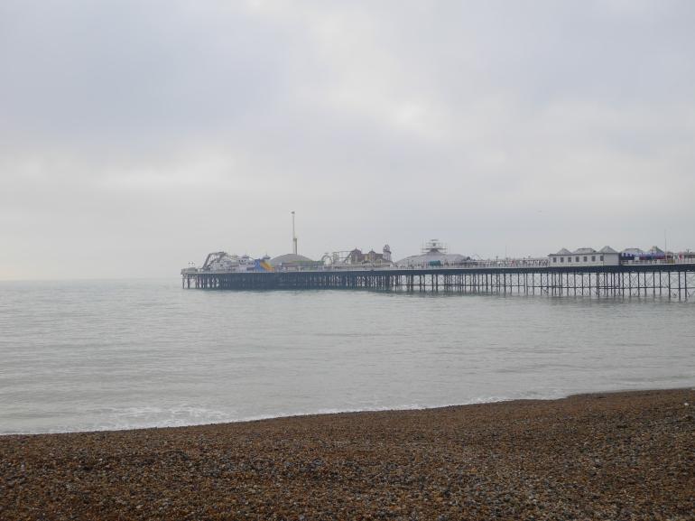 Foggy Morning in Brighton