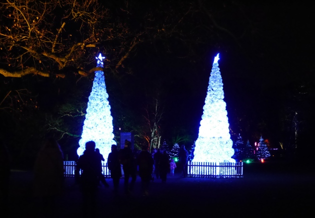 Entrance to Christmas at Kew