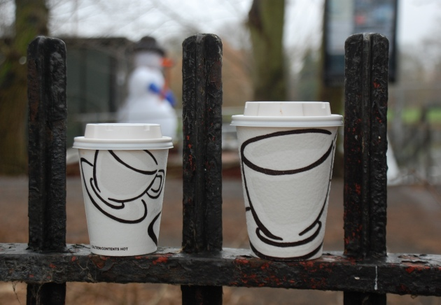 Coffee Cups on the go