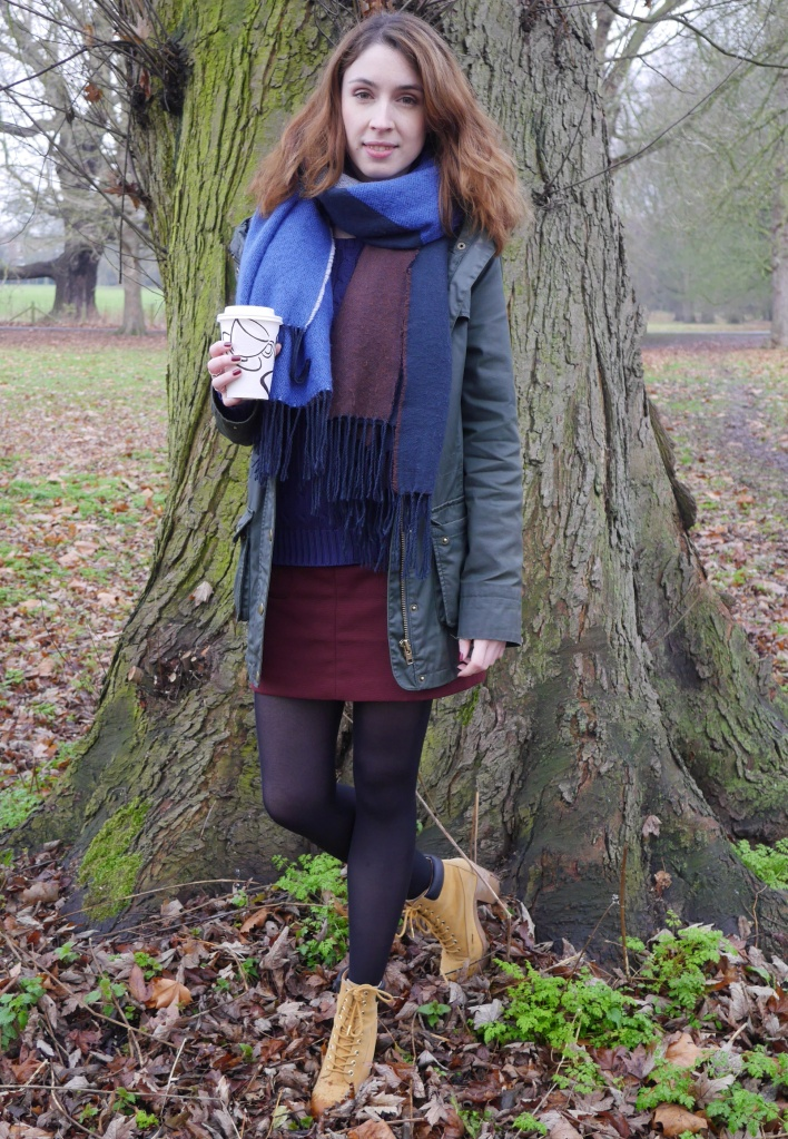 Blogger in Autumnal Colours