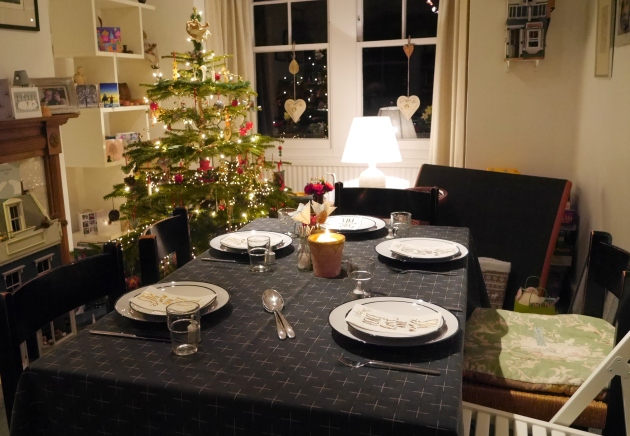New Years Eve Party Table