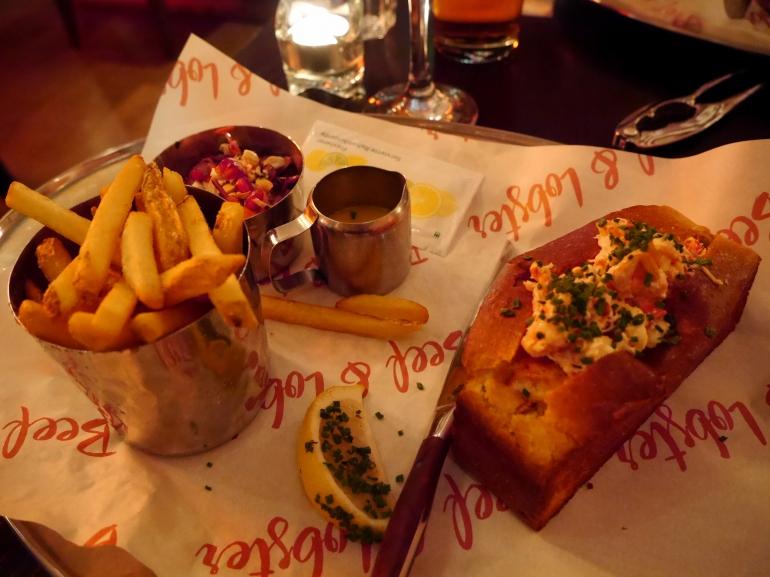 Lobster Roll at Beef&Lobster Dublin