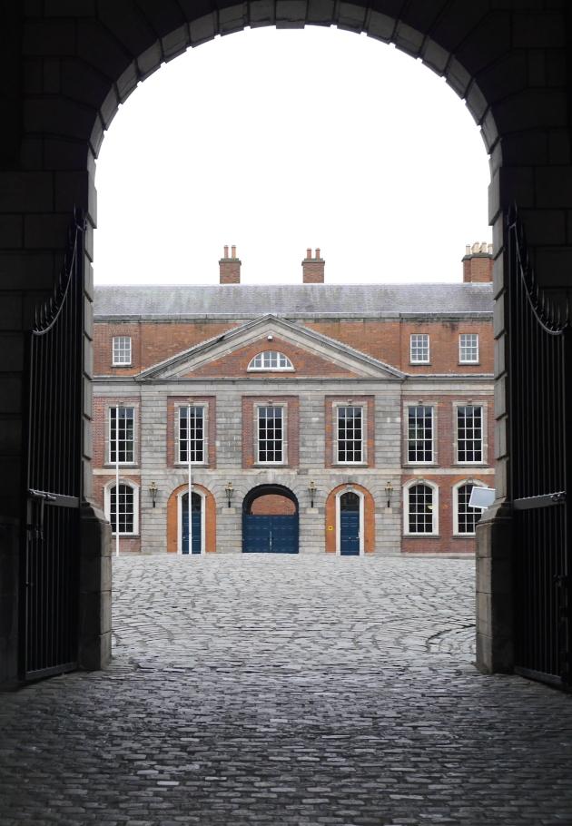 Dublin Castle Archway
