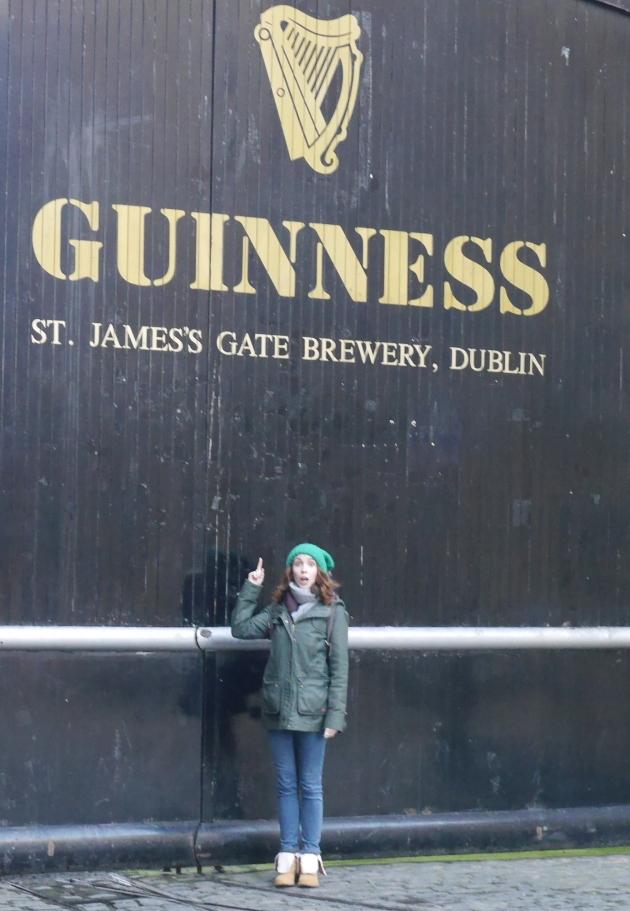 Blogger by Guinness Gate