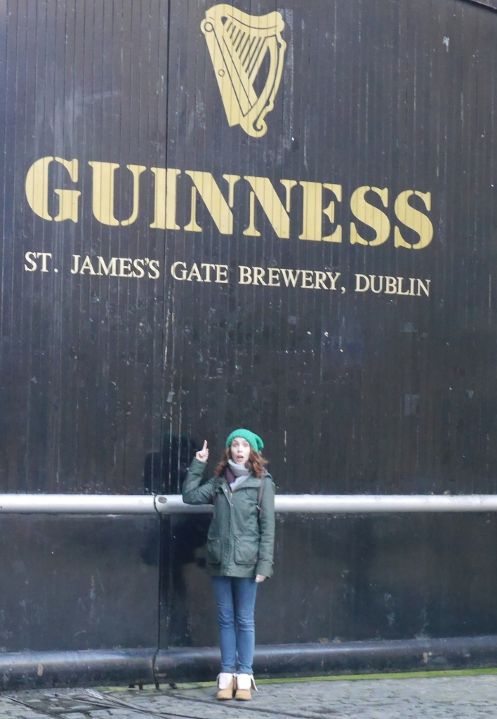 Blogger by Guinness Gate