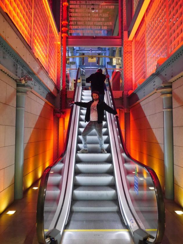 Inside the Guinness Storehouse