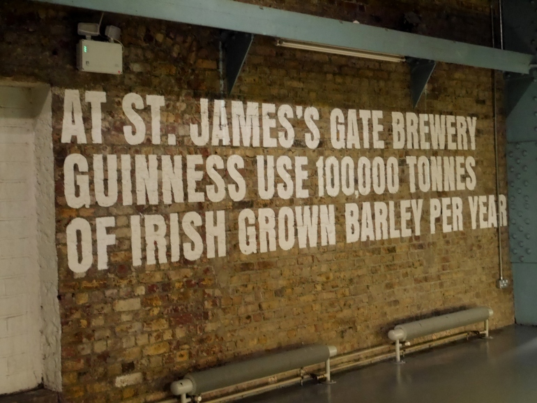 Inside the Guinness Storehouse Tour