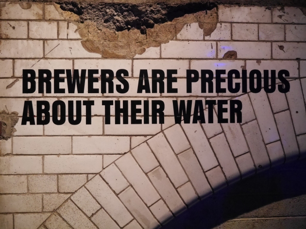 Brewers are precious about their water