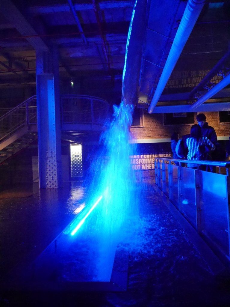 Waterfall at Guinness Storehouse