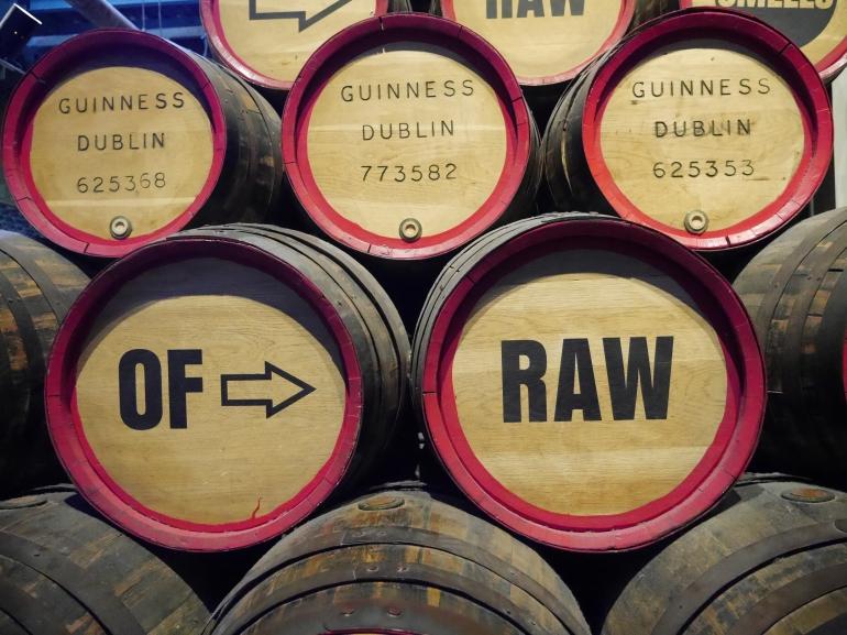 Guinness Barrells