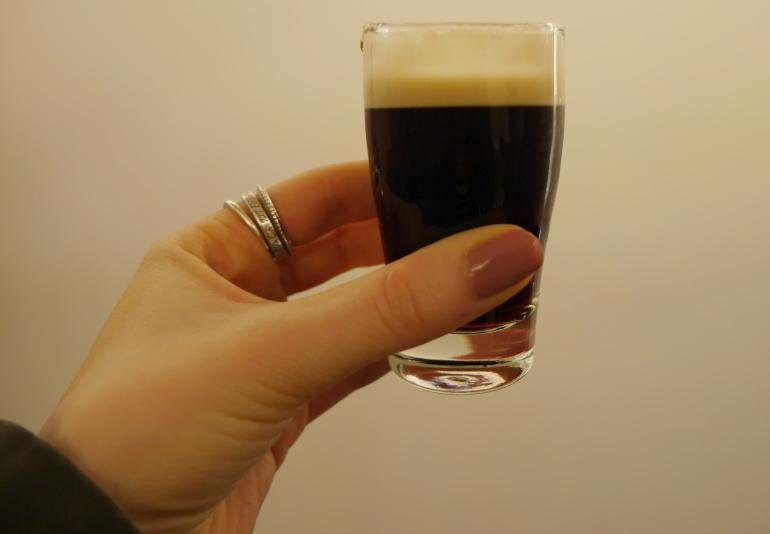 Tasting Guinness