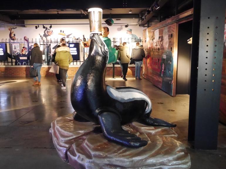 Guinness Storehouse Advertising Room