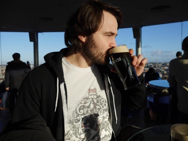 Blogger Boyfriend at Gravity Bar