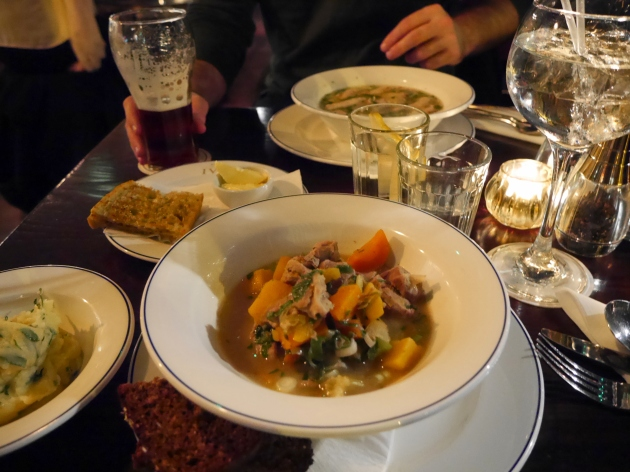 Dinner at The Ivy Dublin