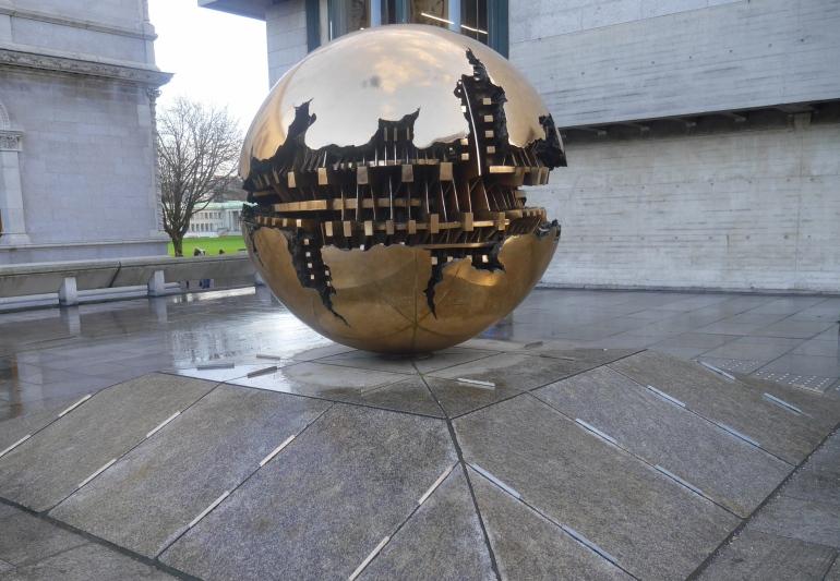 Trinity College Globe